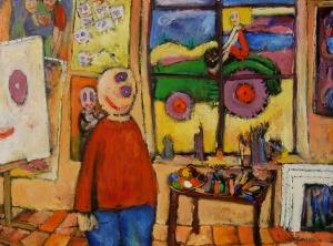 2007 46_poncon_nana_au_tracteur_vert_boissurchassis130x97_p
