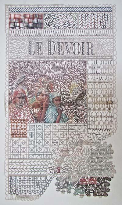 Une œuvre de l'artiste Myriam Dion Copyright © 2013 Myriam Dion