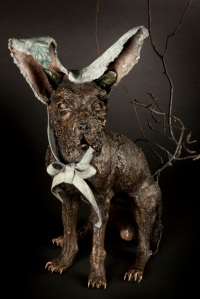 Une sculpture de l'artiste Paryse Martin Copyright © 2013 Paryse Martin
