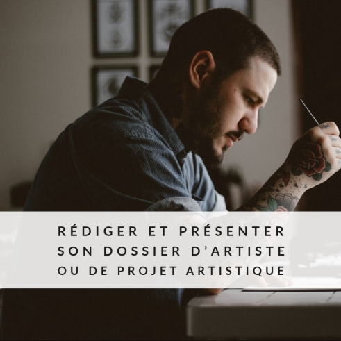formation-rediger-presenter-dossier-artiste-projet-artistique-caroline-houde